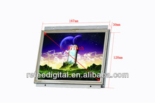 Original LG/Samsung panel Touch screen open frame LCD advertising player -7''