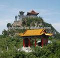 de asia oriental a prueba de agua de estilo chino cerámica vidriada históricos para sitios de paisaje