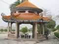 asia oriental ligero estilo chino baldosas de cerámica para el paisaje histórico de los sitios
