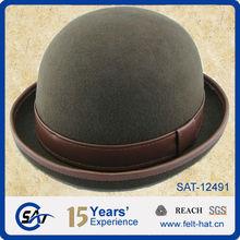 felt pary bowler hats for wholesale