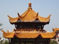 asia oriental estilo chino templo de cerámica vidriada históricos para sitios de paisaje