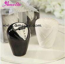 Hot Sale Birde And Bridegroom Salt and Pepper Shaker For Wedding Gift