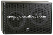 SPE HD brand dual 10' 800W RMS subwoofer for indoor use