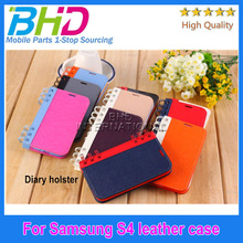Diary Book Flip Leather Case for Samsung Galaxy S4 i9500