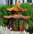 asia oriental estilo chino templo chino de baldosas de barro para el paisaje histórico de los sitios