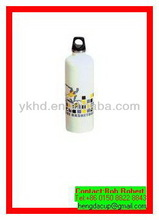 Top quality best sell 400ml painted aluminum bottle of water