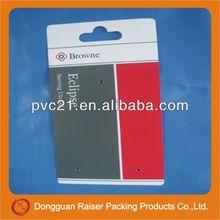 2013 popular transparent plastic mobile phone case packing box