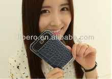 New Luxury Crocodile Grain Hard Case For iPhone 5 5g, Fashion PU Leather Cover Skin Case for iPhone 5, Free Shipping