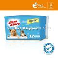 2013 nuove offerte di pannolino per animali da compagnia cane