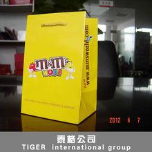 Export gift bag shopping bag / reusable bag / gift bag China production for eco-friendly gift bag valentine gift bags packing