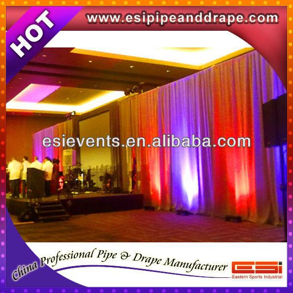 ESI hotel ceiling wall drapery fabric
