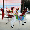 new products alibaba carousel horses plastic