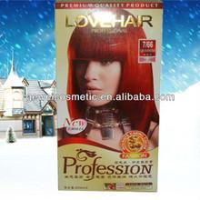Color de pelo productos de italia, 100% pelo gris 60ml*2 la cobertura