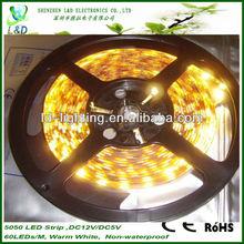 High quality 30leds/M smd 5050 ul led strip light