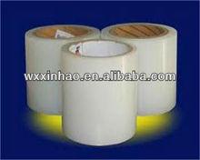 Self adhesive PE clear heat shrink plastic film