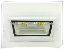 Shenzhen factory 2013 hot selling CREE 30/40W high power Rectangular LED downlight with 2 years warranty