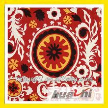 Ethnique imprimer mesdames robe tissus de rayonne hindoue