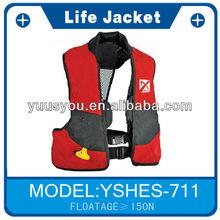 waist bag inflatable life jacke with white camo