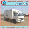 JMC box truck,special van truck,6 wheels diesel truck 5tons for sale