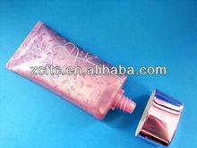 aluminum plastic cosmetic laminated tube, flat shape