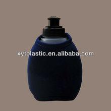 LDPE children plastic cartoon water bottle with bag