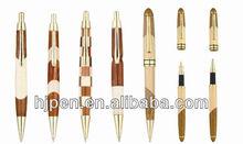 2013 New Design Wonderful Gift Pen Brand Wood Ball Pen