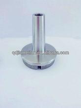 stainless steel handrail post ending support