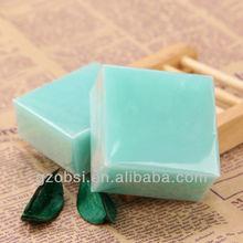 Rose/goat milk/mint fragrance hand made soap