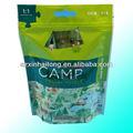 botânico de plástico cosméticos umidade cheiro de lavanda folha de sacos saquinho