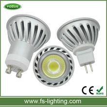 good quality GU10 led spot light 4w 220v cold white cob lights for building and civil engineerning