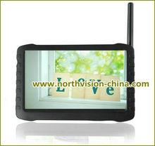 Alta definición 5.8 G dvr kit inalámbrico, 5.0 pulgadas del monitor del bebé con 480TVL cámara