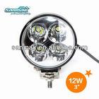 SM6052-12 Hot-Selling!! 12W car LED headlight, LED auto head lamp