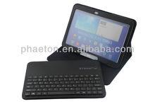 2013 detachable Wireless case for samsung P5200 keyboard galaxy tab3 10.1''
