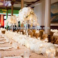 5 arms wedding crystal candelabra on sale,wholesale wedding centerpiece MH-1484
