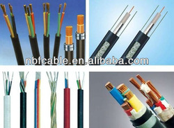 Silica rubber insulated and sheathed heat-resistance control cable