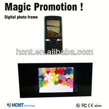 Magnetic floating digital photo frame ,digital photo frame with tv tuner