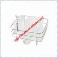 Ménagers en acier inoxydable égouttoir/cuisine, séchés, vaisselle cas/panier métallique