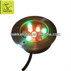 Garden lighting purpose 9w multi color led decorative light ip65 epistar chip