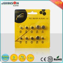 1.5V Ag1~Ag13 high capacity button cell