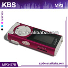 Factory Price video convert mp3 with two-color LCM display