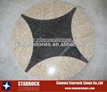 Gelb& braun granit muster