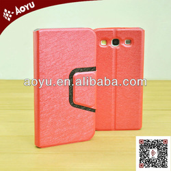 2013 popular leather phone bag for samsung with factory price