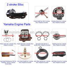 ATV Spare Parts Moped Parts Motorcycle Parts CG/CB/CG/GY6 50/70/90/110/125/200/250cc 2-stroke 50cc JOG 1PE40QMB