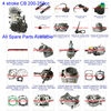 ATV Spare Parts Moped Parts Motorcycle Parts 4-Stroke 200cc-250cc CB Water-Cooled Engine