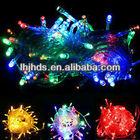Multi color copper led christmas string light