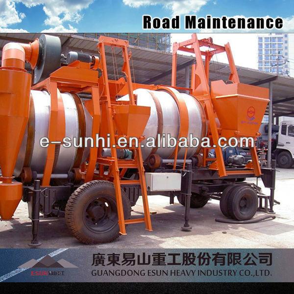 Portable Hot Bitumen Drum Mixing Equipment SLJ-16