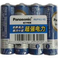 Panasonic AA R6PUN/4S Battery