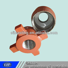 ductile iron clay sand casting shaft cover for mining machinery part