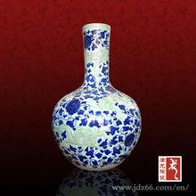 Home Goods Vases Jingdezhen High-grade Porcelain for Study Room Decoration