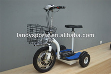 adult three wheels scooter/ three wheel electric chariot(LD-ES350H)